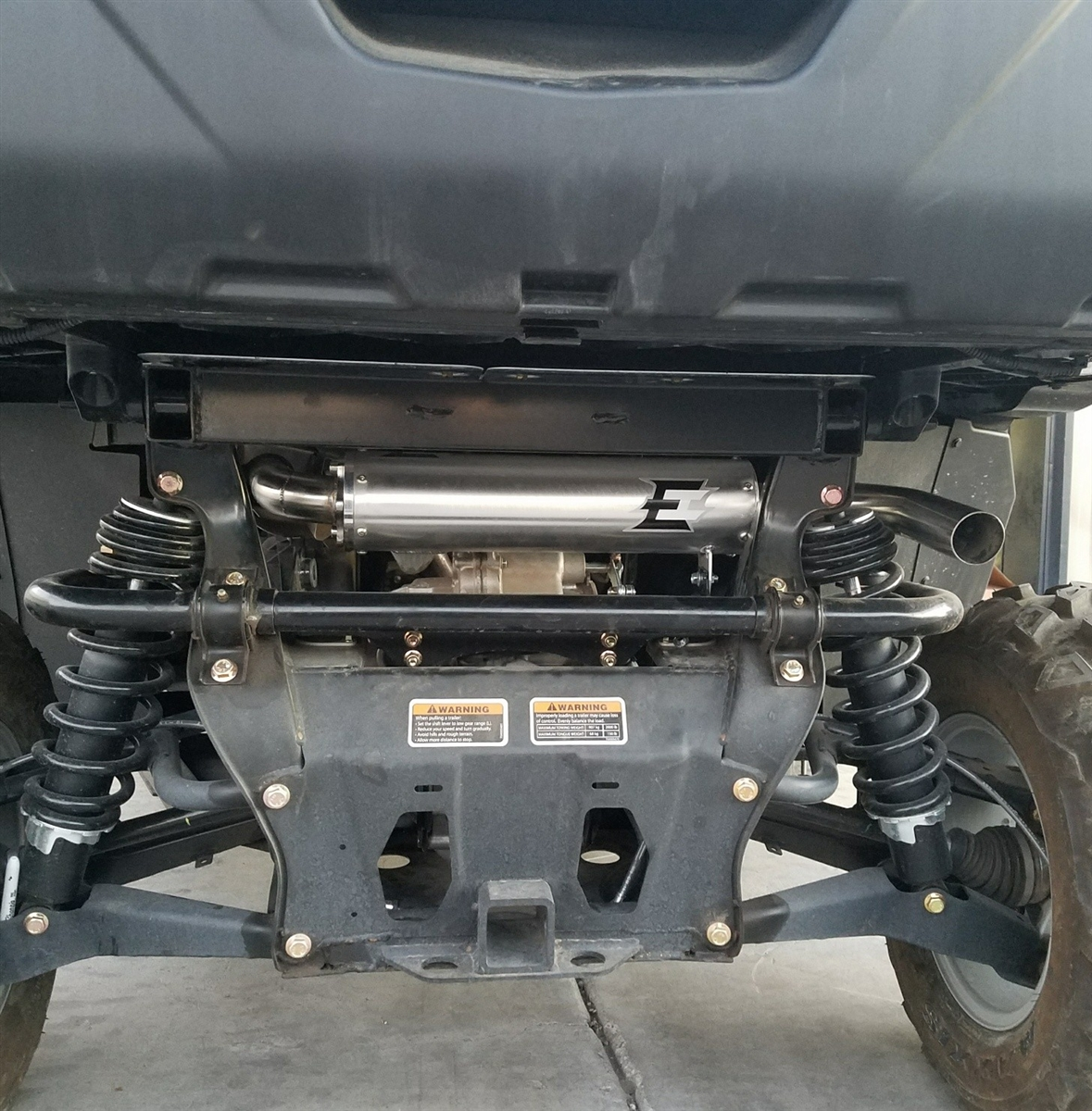 Empire Industries Can AM Defender Slip On Exhaust