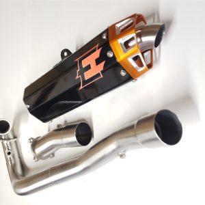 Empire Industries KTM 690 SMC R Full Exhaust system