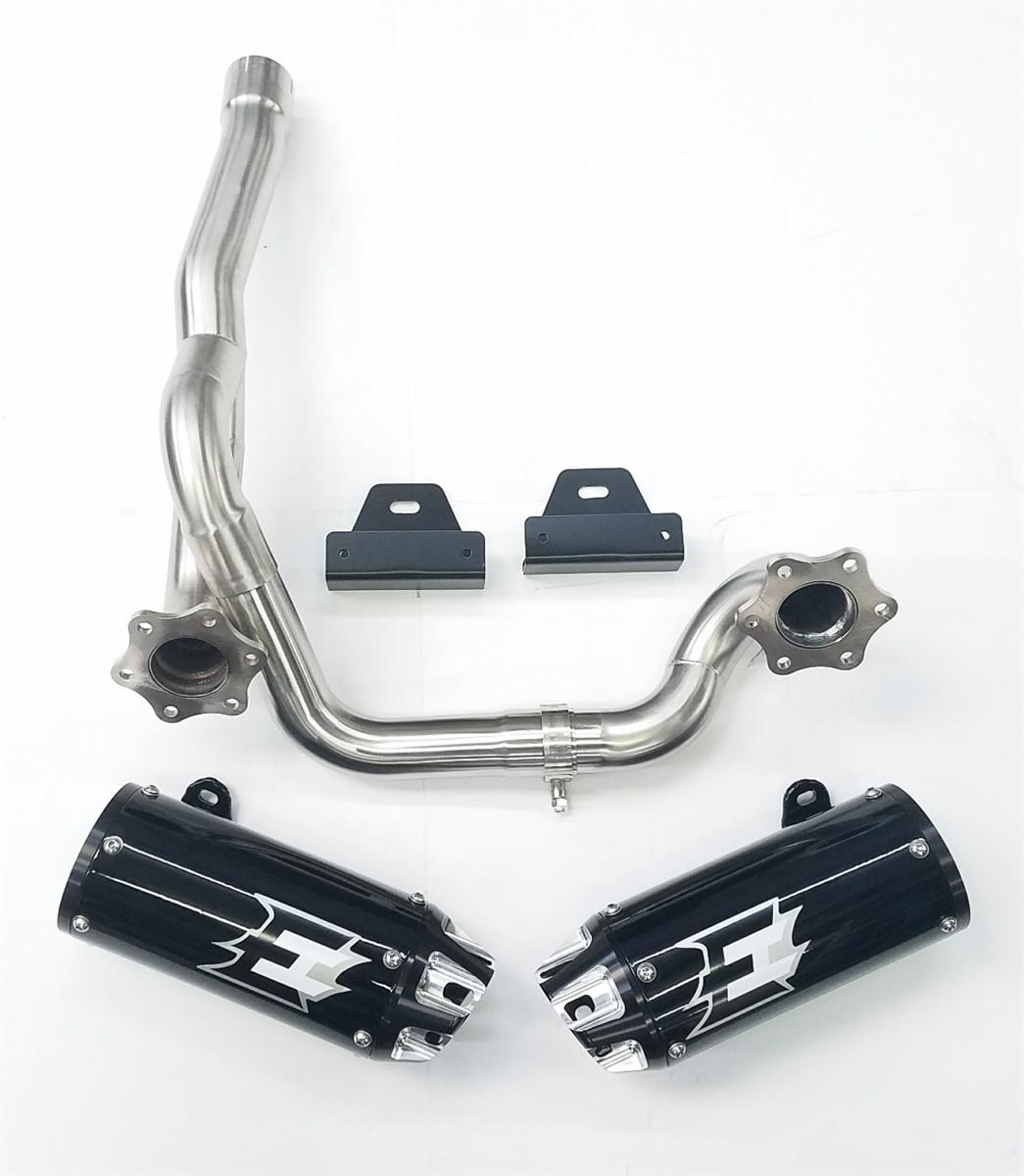 Empire industries 12-21 Can Am Outlander Dual slip on exhaust