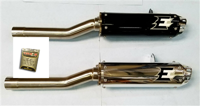 Can AM Outlander 12-20 Slip On Exhaust with Fuel Controller