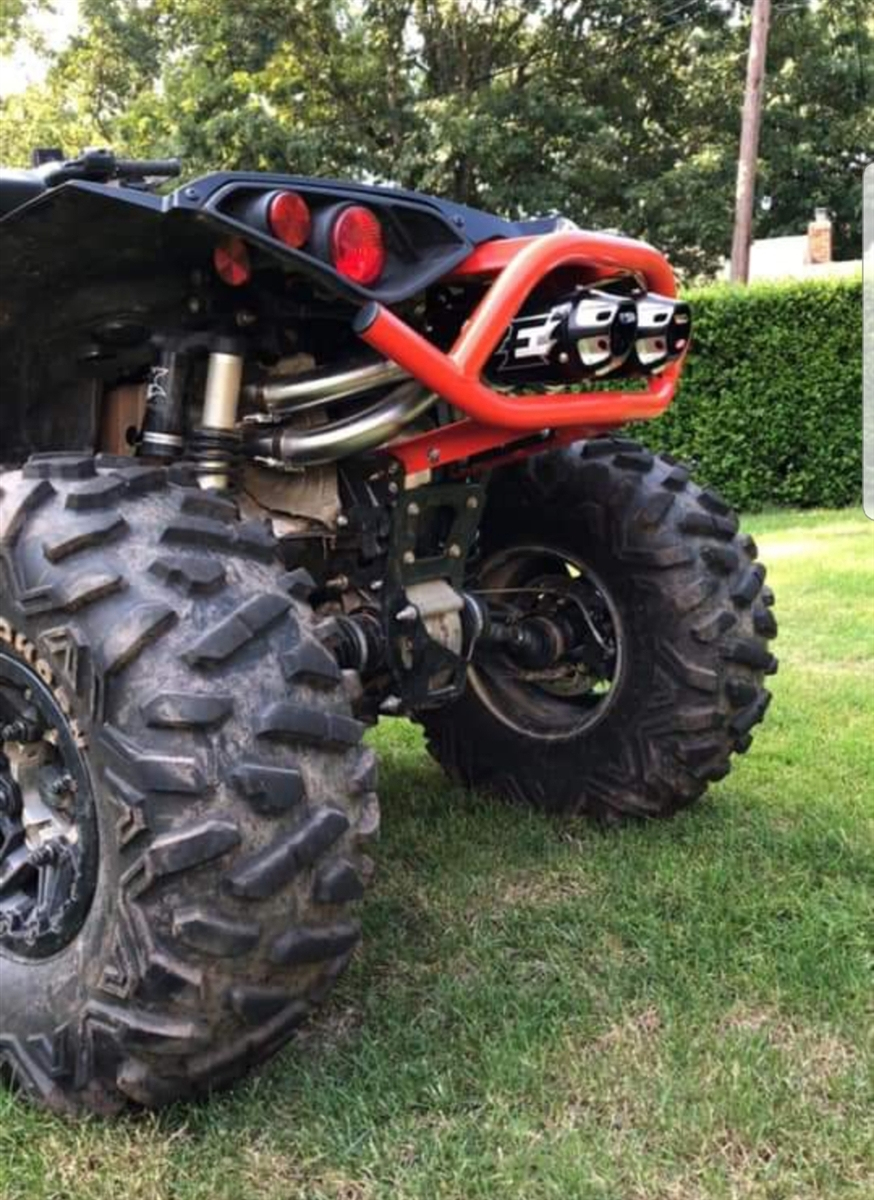 Can AM Renegade XMR Slip On Exhaust