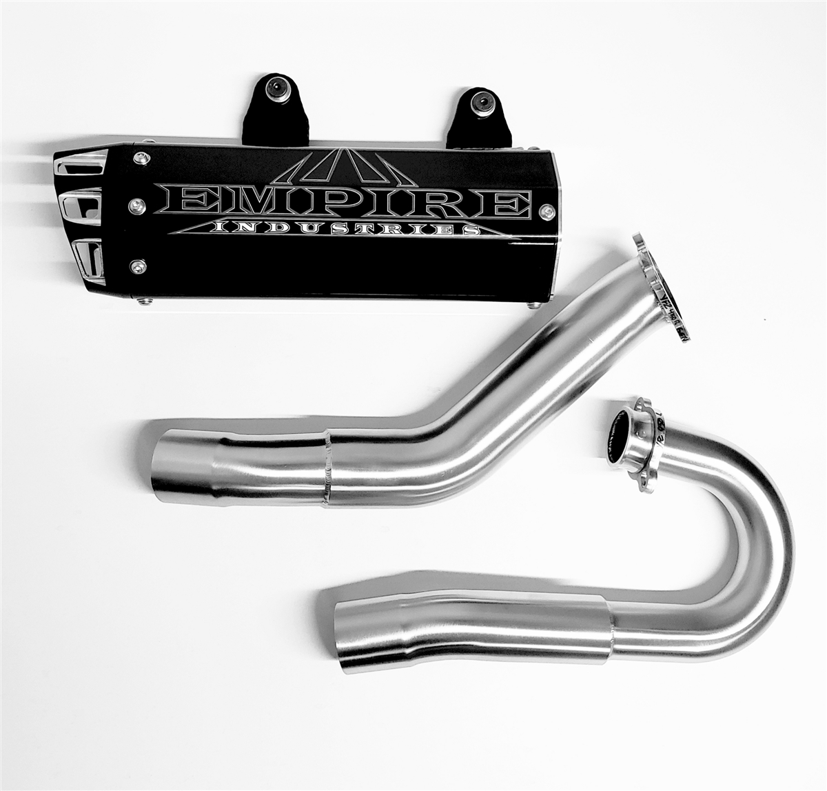 """Empire Industries Gen 2 """"Big Bore"""" Full Exhaust System for Carbureted YFZ 450"""